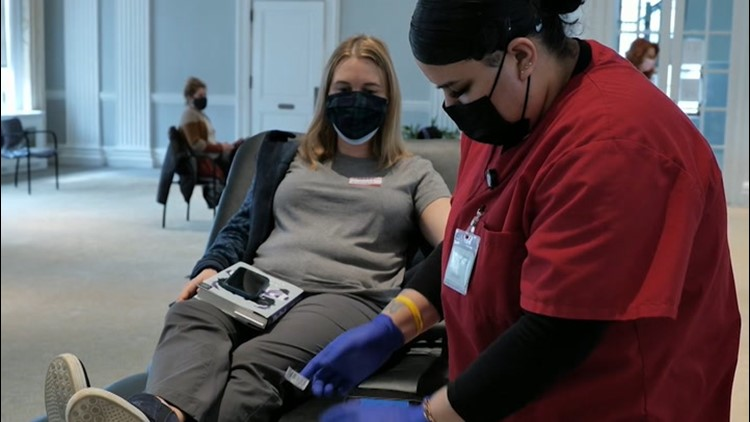Winter weather hampers blood drives