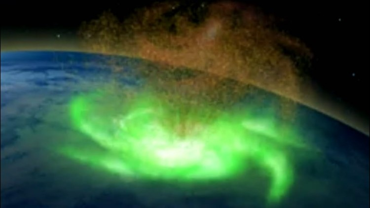 Scientists detected 'space hurricane' above North Pole