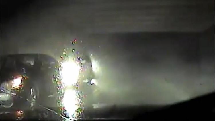 Intense tornado dashcam footage from March 2020