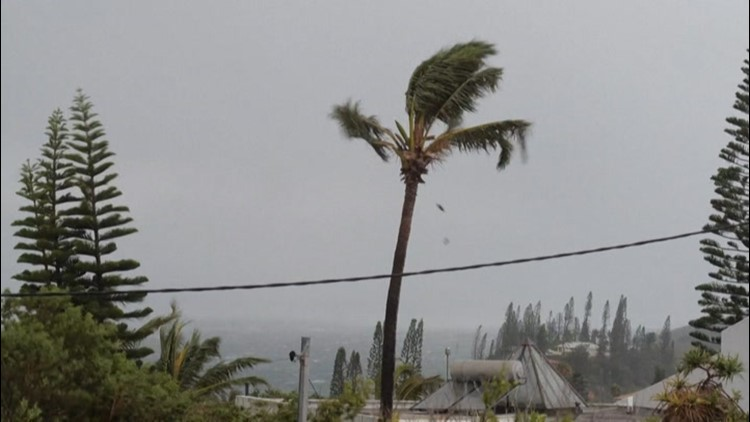 New Caledonia rocked by Cyclone Niran's strong winds