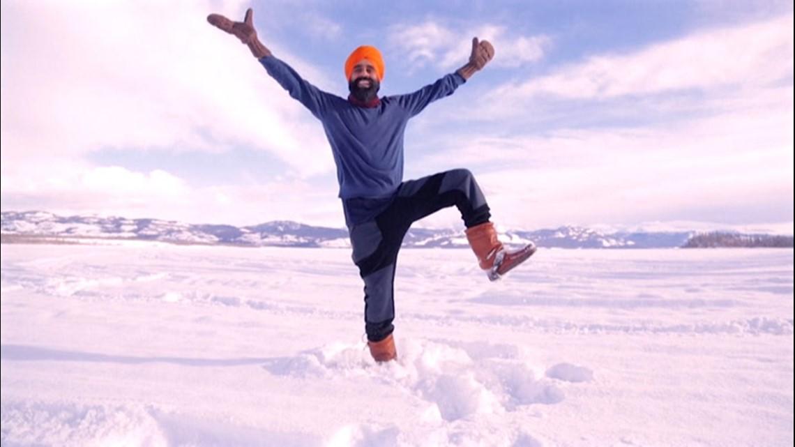 Canadian man celebrates COVID vaccine with Bhangra dance