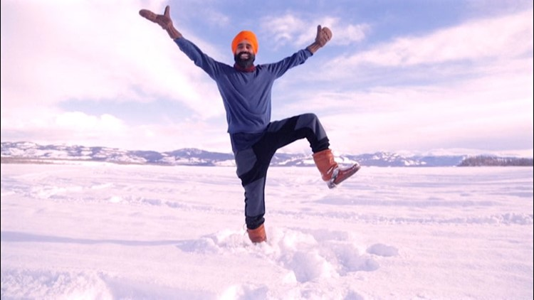 Canadian man celebrates COVID vaccine with Bhangra dance
