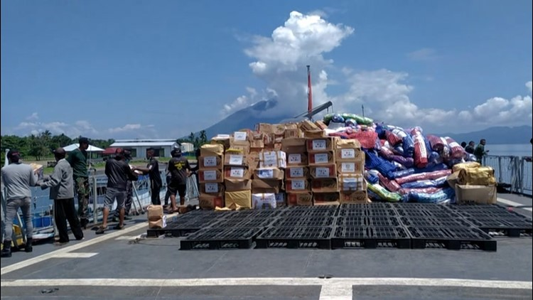 Aid arrives for those impacted by deadly cyclone