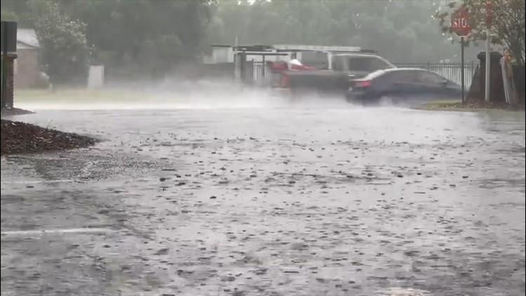 Thunderstorms continue to pummel the Florida Peninsula