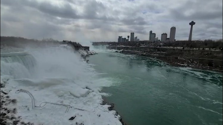 Niagara Falls impresses even on a dreary day