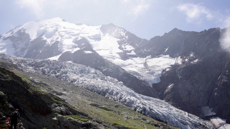 Mount Blanc's Glacial Melt is a Stark Reminder of the Ongoing Climate Change