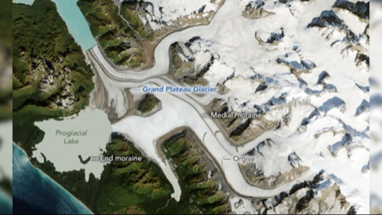This Alaskan Glacier Shrinks at an Alarming Pace Over 35 Years