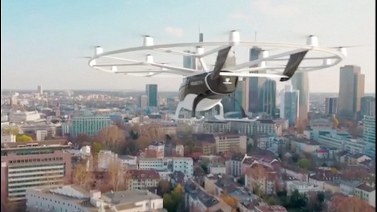 This Flying Taxi Could Be Ferrying You to the Airport in the Near Future