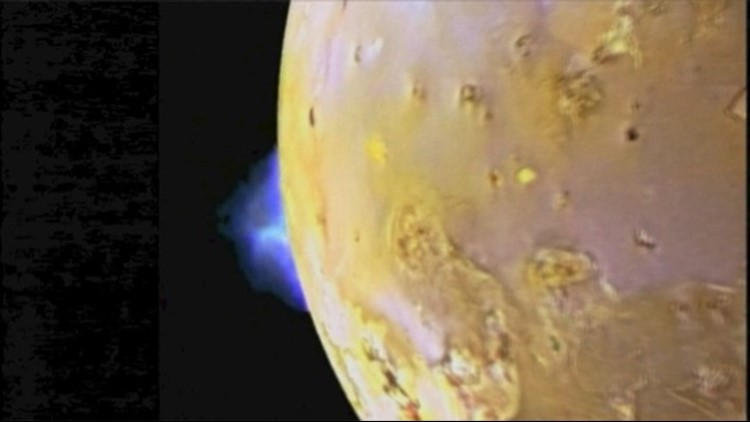 The First Ever Sighting of Toxic Gas Spewing From Jupiter's Moon