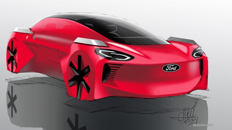 Ford Unveiled 2030 Car Based on the Views of Eight and Nine Year-Olds
