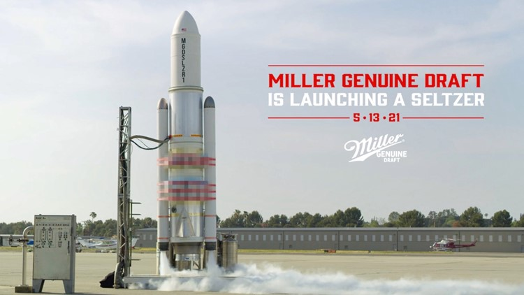 Miller is Launching a Seltzer Into Space, and You Can Livestream It!