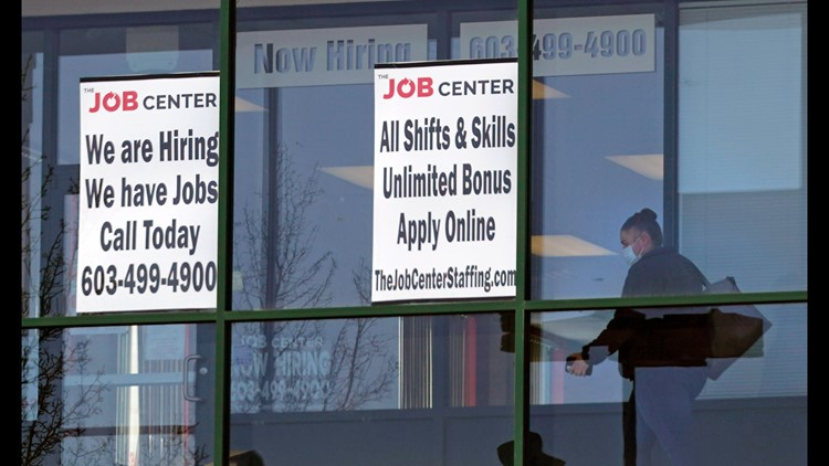 US jobless claims tick up to 412,000 from a pandemic low