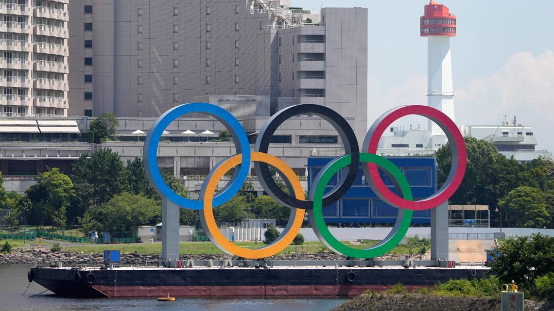 Australian athletes left behind damaged Tokyo Olympics rooms
