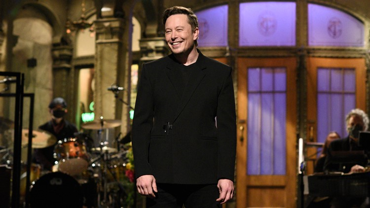 Elon Musk moves ratings as host of 'Saturday Night Live'