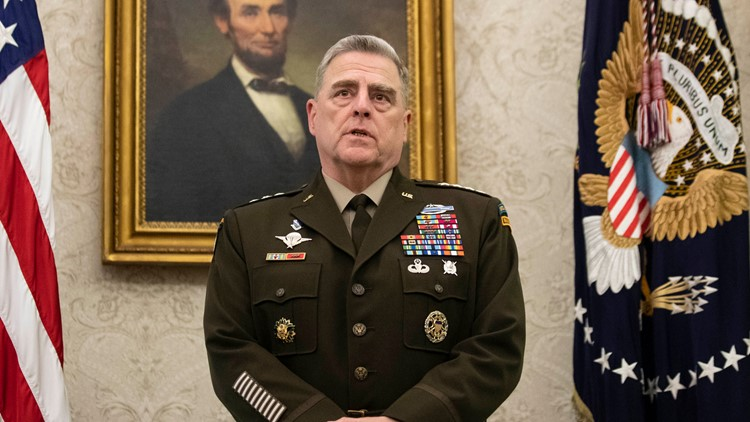 Top military leaders remind troops of limits of free speech