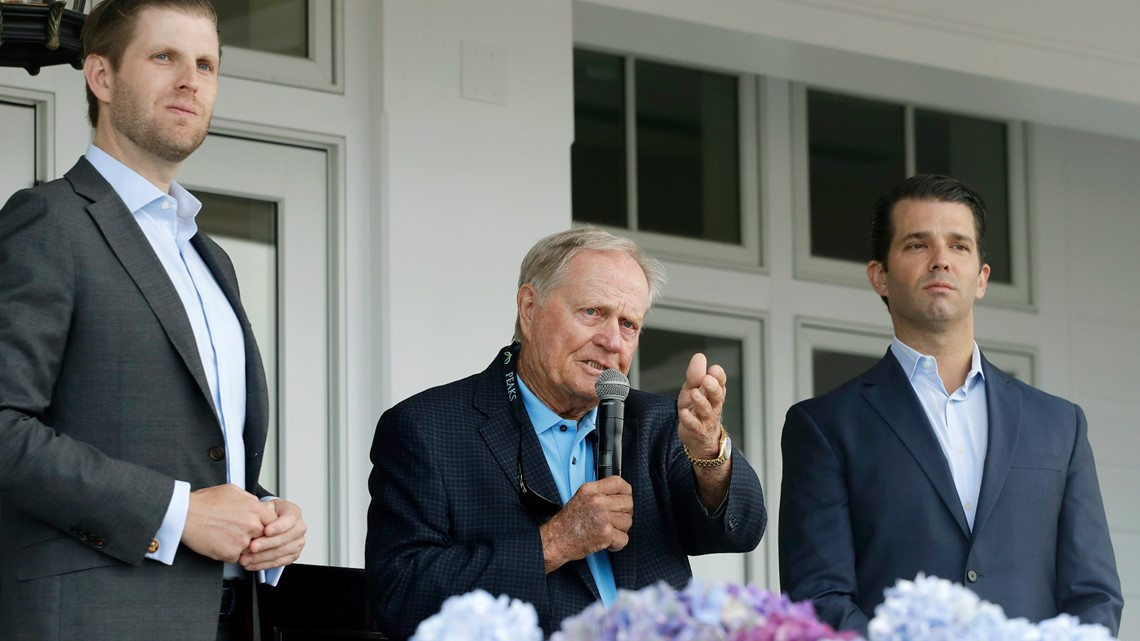 'More diverse than any president I have seen' | Jack Nicklaus votes for Trump