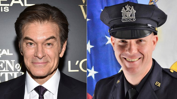 Dr. Oz assists in saving man with medical emergency at New Jersey airport