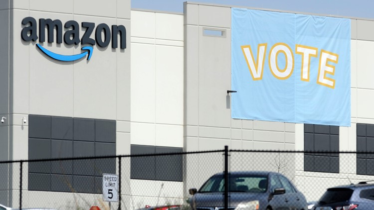 Amazon secures enough votes to block union effort