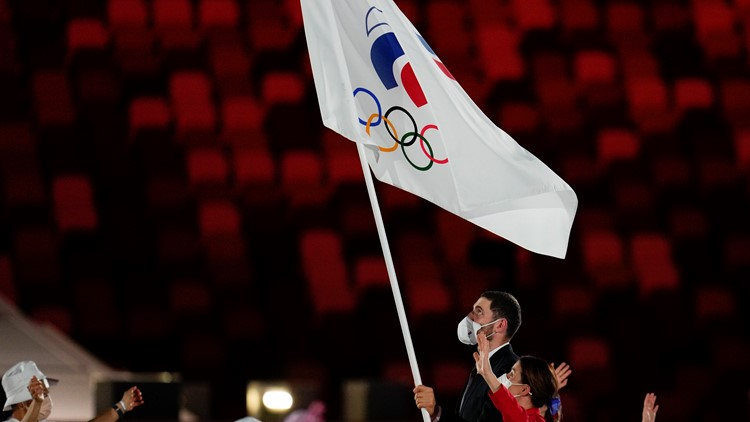 Why is Russia called ROC at the Tokyo Olympics?