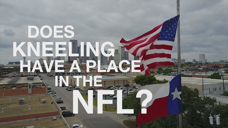 Does kneeling have a place in the NFL?