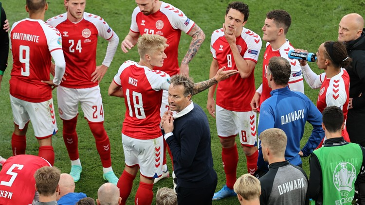 Denmark player Christian Eriksen 'was gone' before being resuscitated, team doctor says