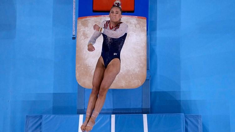 After Biles exit, MyKayla Skinner impresses on Olympic vault