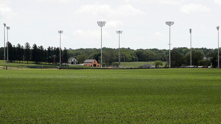 MLB in Iowa: 'Field of Dreams' game a month away