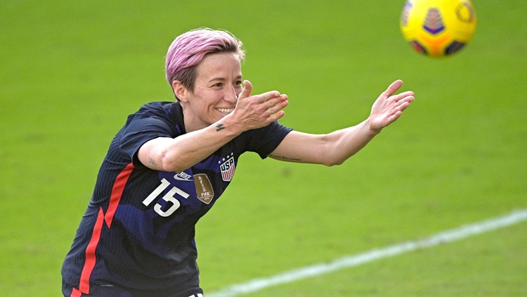 US women's national team beats Brazil 2-0 in SheBelieves Cup