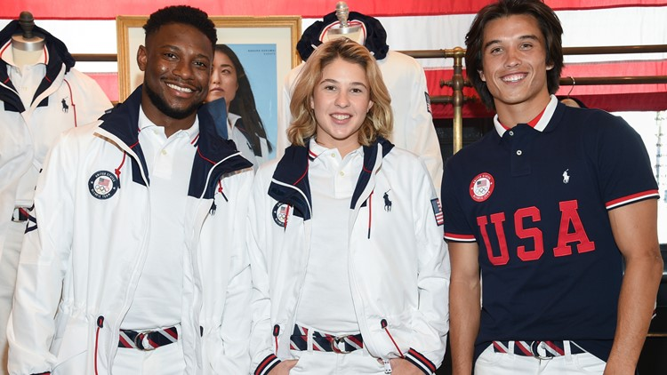 Ralph Lauren unveils crisp white Team USA Olympic uniforms