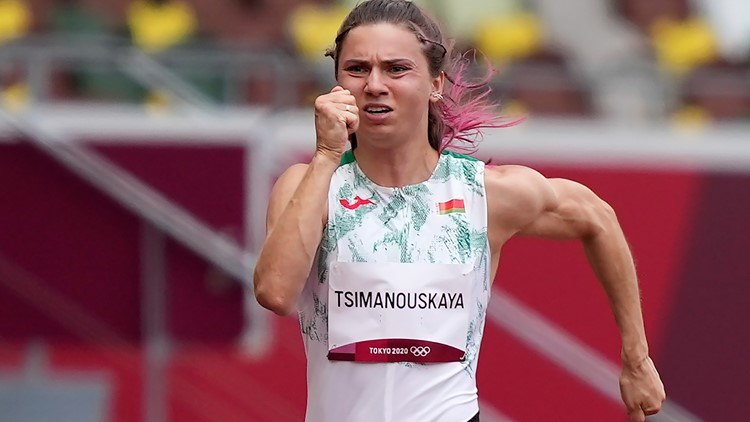 Belarus runner alleges Olympic team tried to send her home