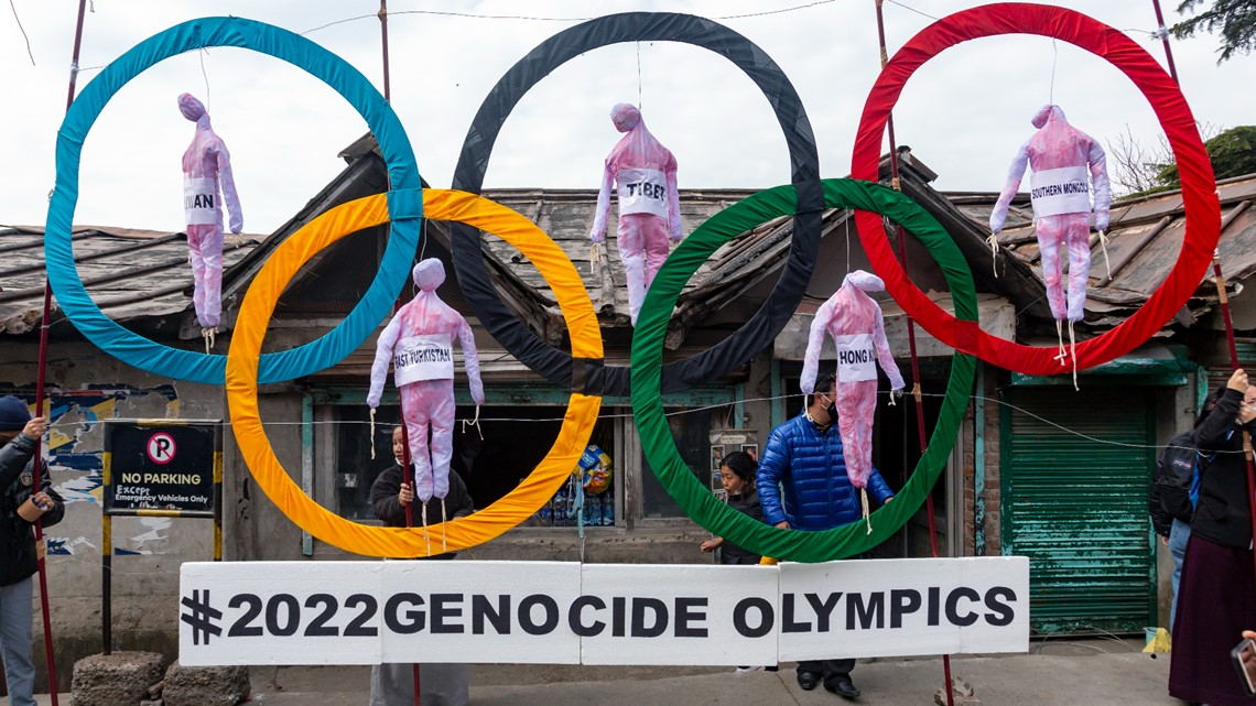 Broadcasters urged to cancel plans to cover Beijing Olympics