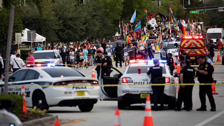 Driver says he is devastated by fatal Pride parade crash in Florida