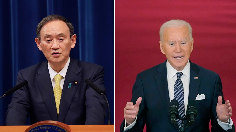 China cautions Japan before Biden, Suga meeting