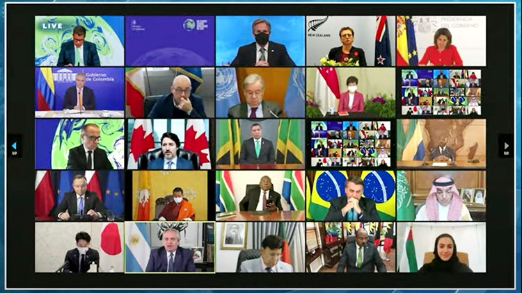 World leaders pledge climate cooperation despite other rifts