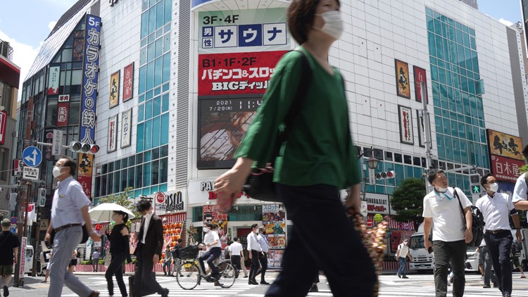 Officials in Tokyo alarmed as COVID cases hit record highs