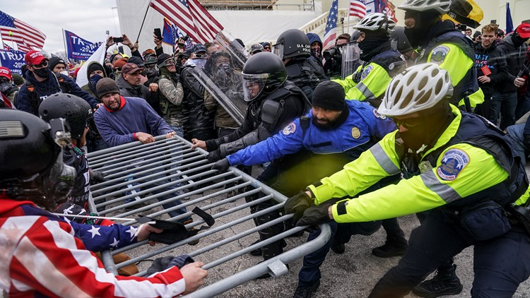 'Blame Trump' defense for Capitol riot suspects looks like legal longshot