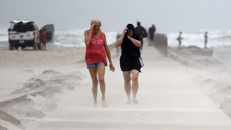Hurricane Nicholas makes landfall near Houston