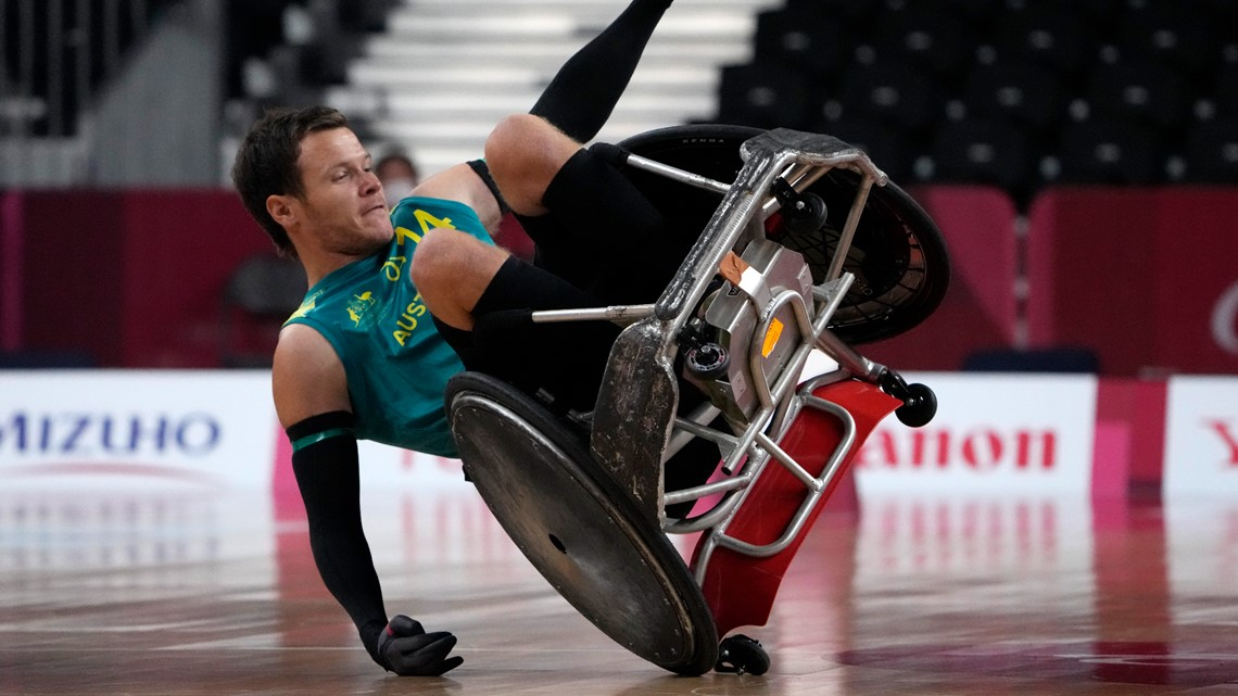 Wheelchair rugby smashes stereotypes at the Paralympics
