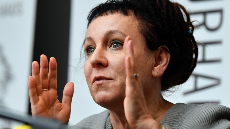 Nobel-winning laureate Olga Tokarczuk's art book hits bookstores