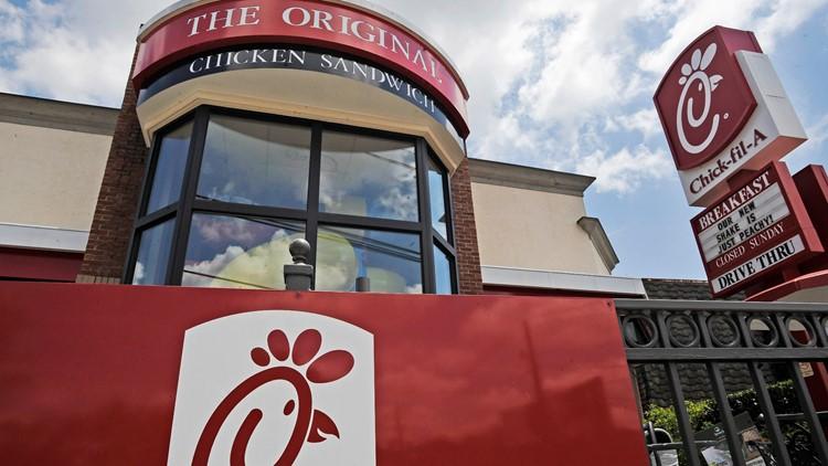 Chick-fil-A chosen as America's top fast-food spot; McDonald's ranked last