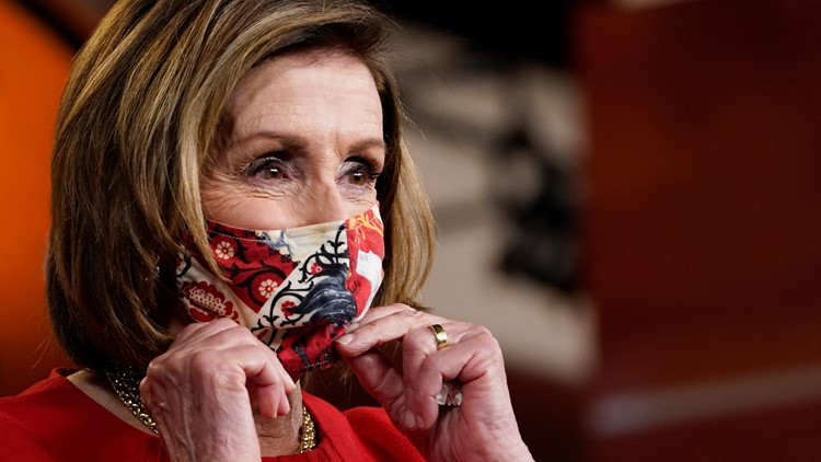 Pelosi says 'deadly serious' Jan. 6 probe to go without GOP