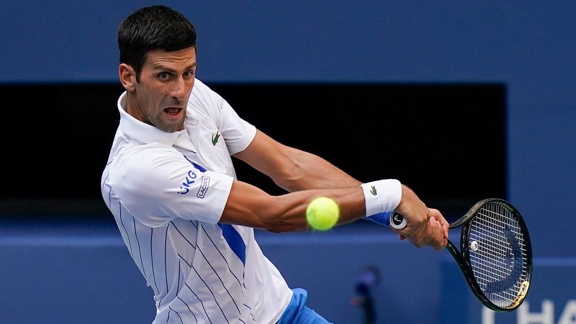 Novak Djokovic Disqualified At Us Open After Hitting Line Judge Wnep Com