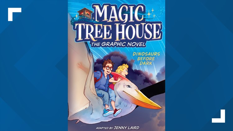 'Magic Tree House' books to be adapted into graphic novels