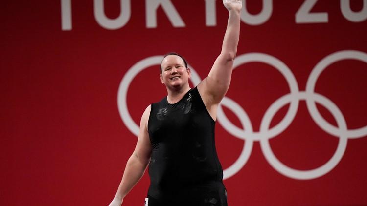 Transgender weightlifter Hubbard makes history at Olympics
