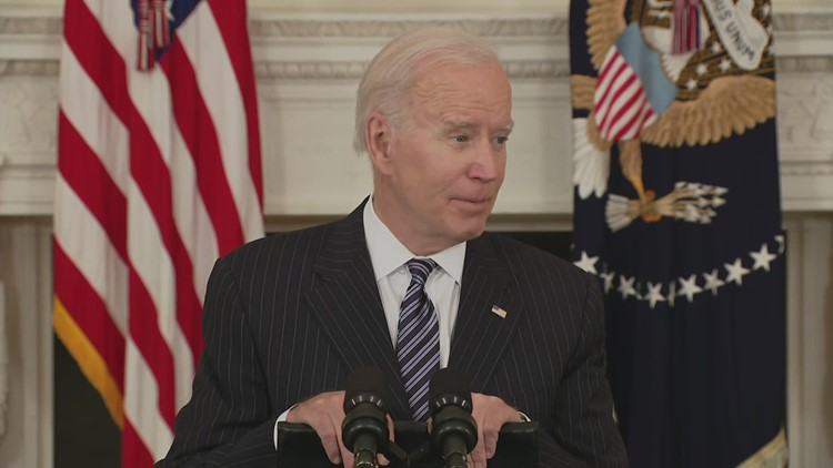 Biden on Masters in Georgia moving after changes in state's voting laws