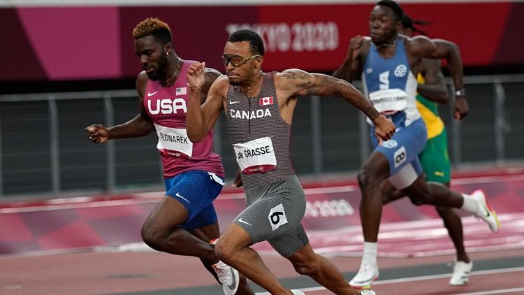 Kenny Bednarek runs personal best, wins silver in men's 200-meter final