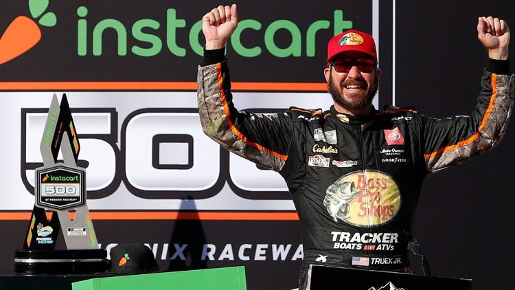 Martin Truex Jr. wins NASCAR Cup race at Phoenix Raceway