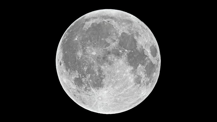 The first full moon of 2021 will rise tonight