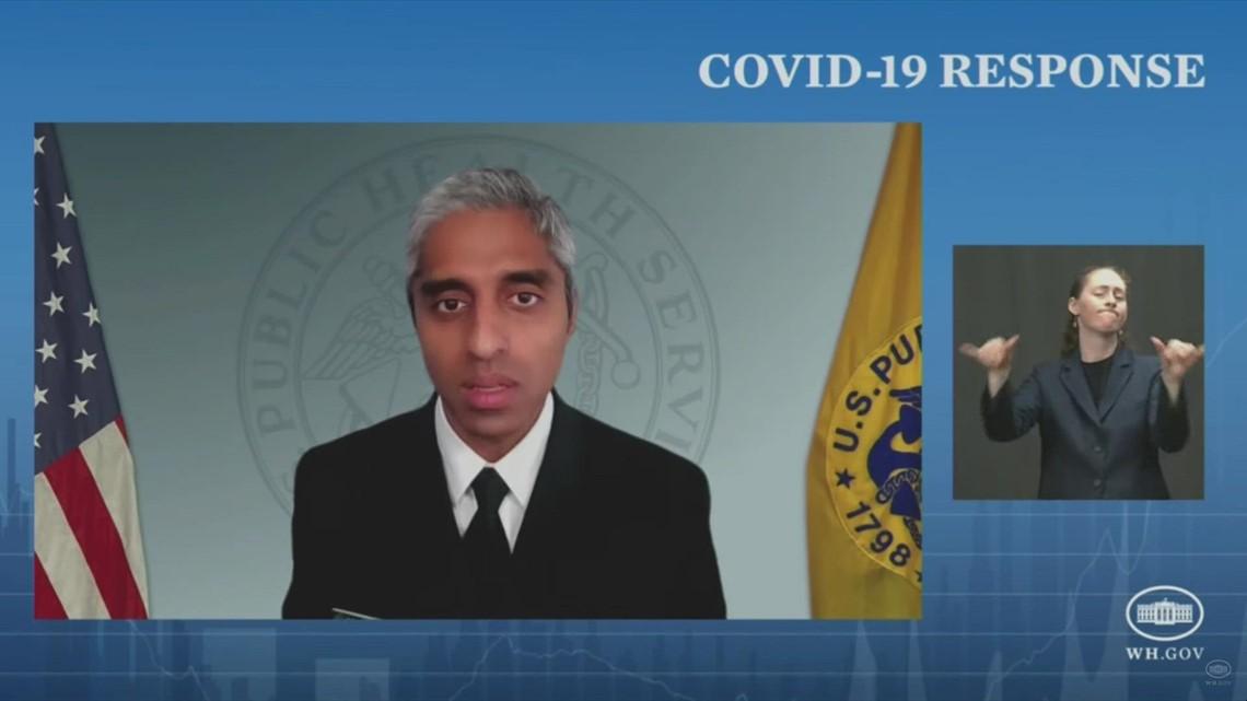US Surgeon General addresses COVID delta variant
