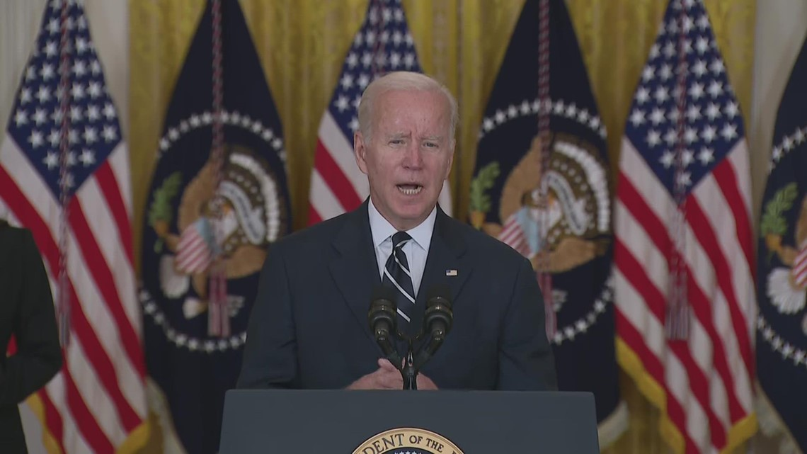 'No one got everything they wanted including me' | Biden lays out infrastructure framework